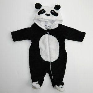 Newborn 5-8 lbs Panda Outfit Sleeper Costume